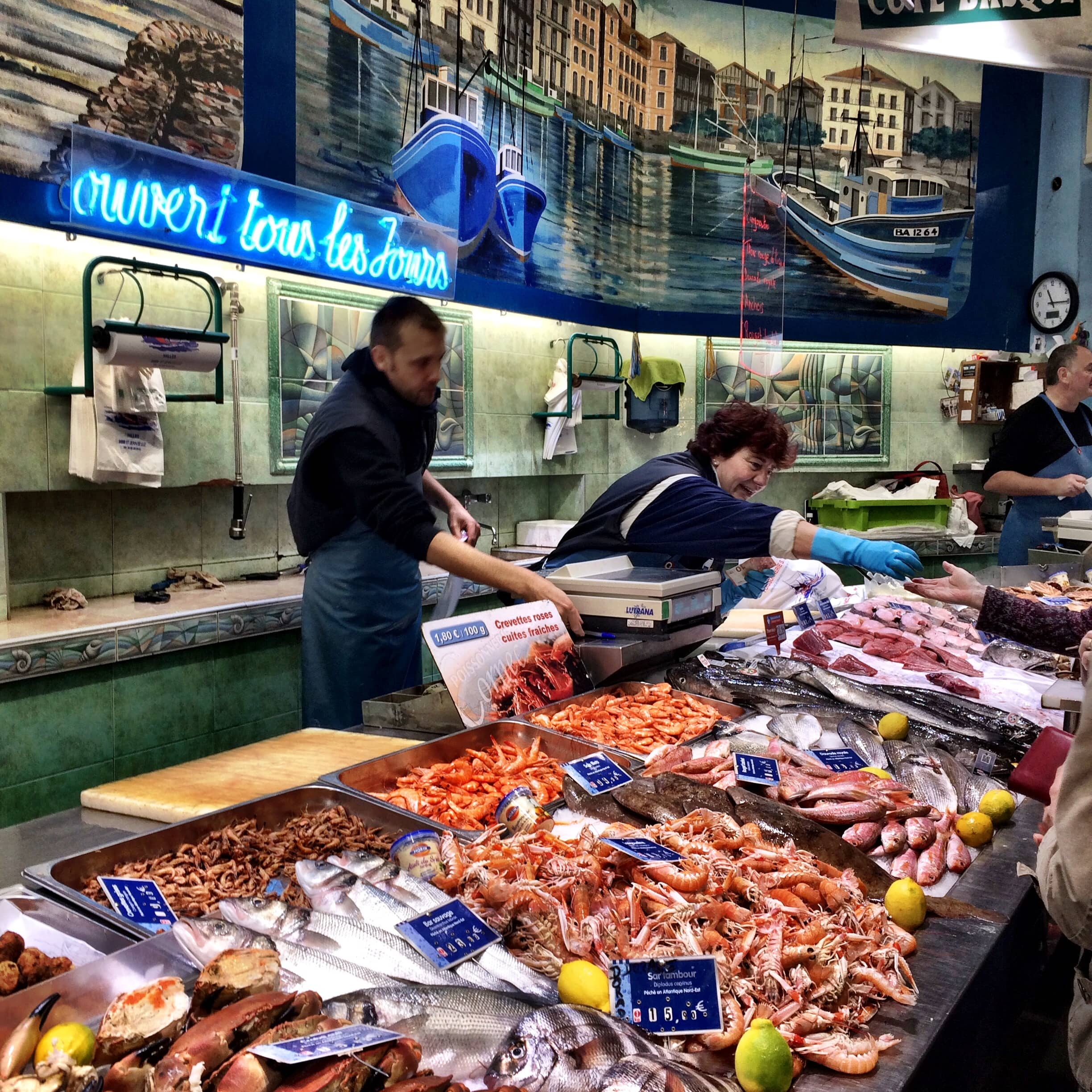 Fish Market in St. Jean-de-Luz ©Deborah L. Jacobs