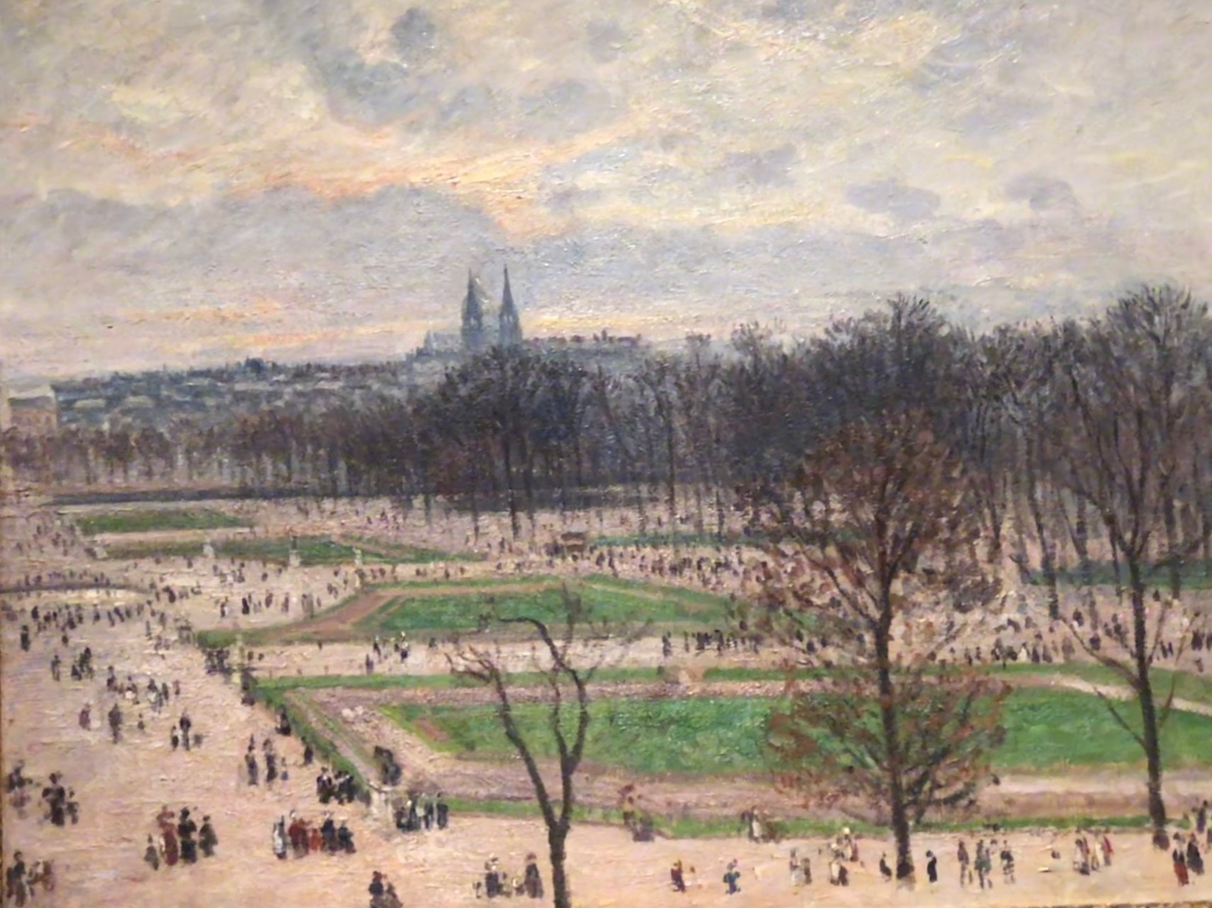 Pissarro Tuileries in Spring