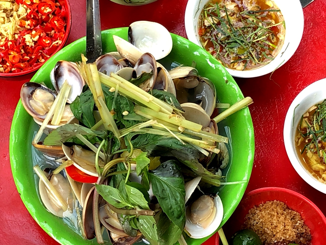 Hanoi street food Bun Cha 46 phat loc