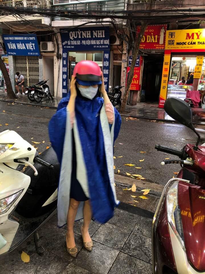 Hanoi Rain Poncho