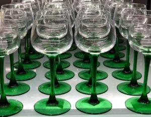 Rhine wine glasses