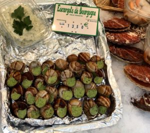 Snails at Paris Market