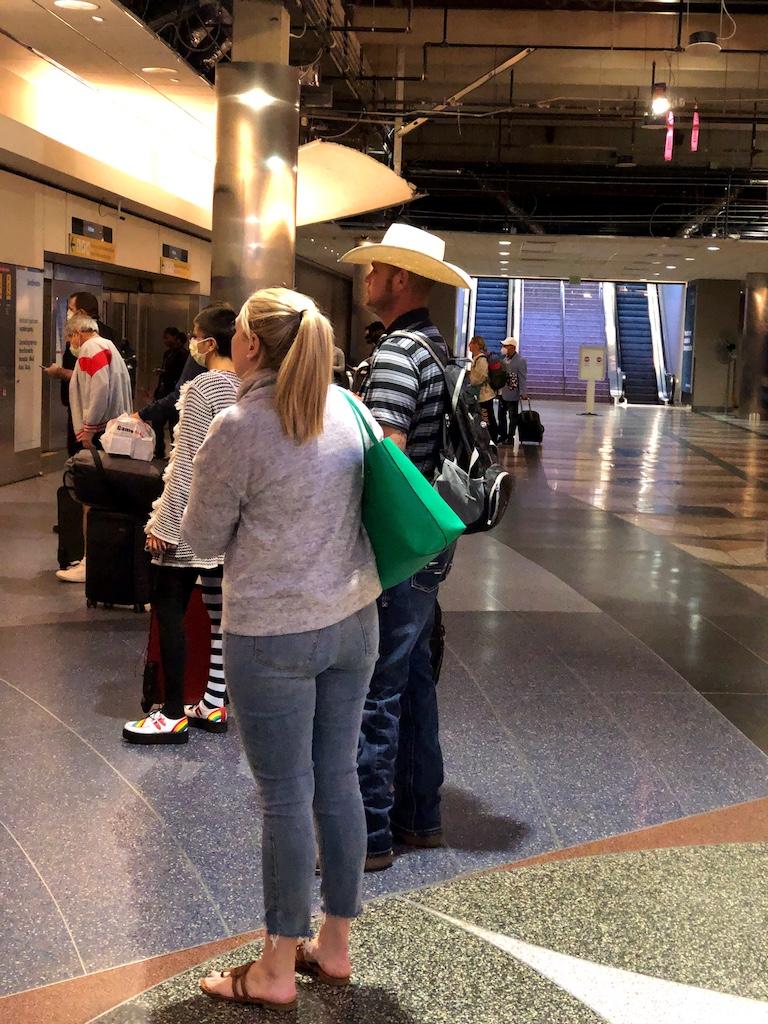 No Mask Denver Airport